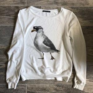 Wildfox seagull sweatshirt